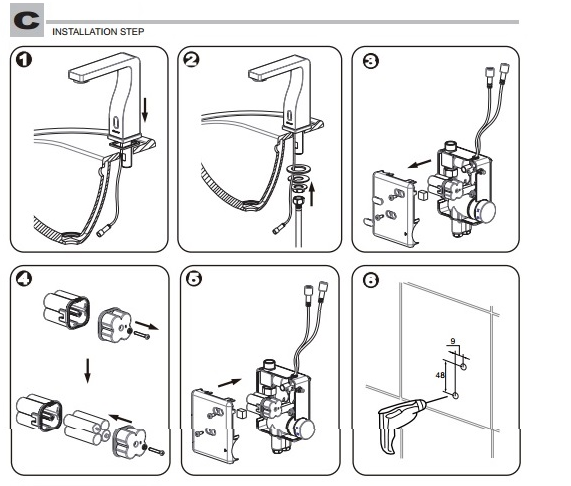Installation Instructions For Bravat Oil Rubbed Bronze