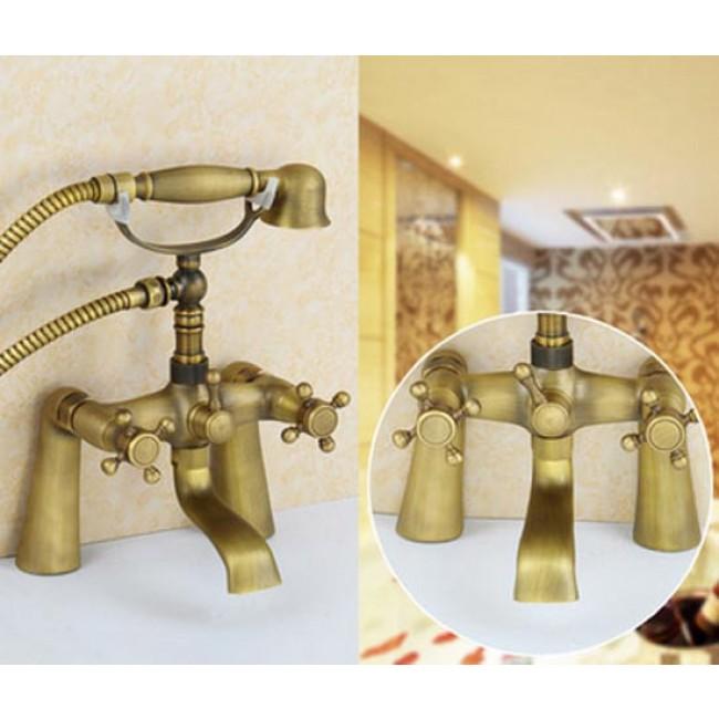 New Design Antique Bronze Bathtub Faucet Wall Mount Shower Faucet ...