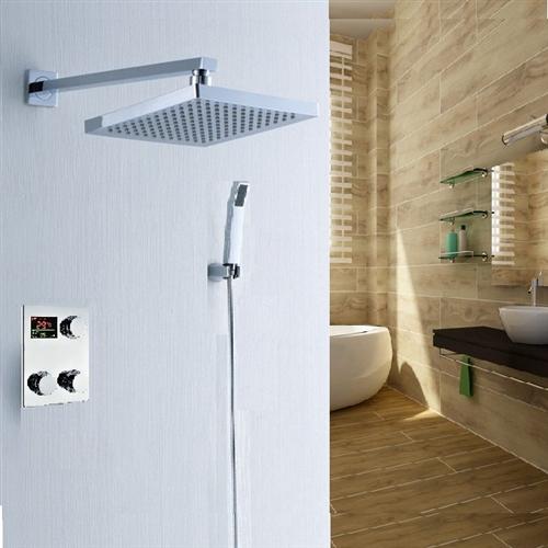 Digital shower control system shower mixer intelligent shower control system for bathroom all - Intelligent shower ...