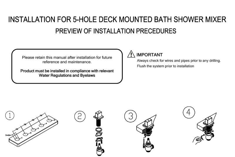 Vincci Oil Rubbed Bronze Wide Spout Bathtub System