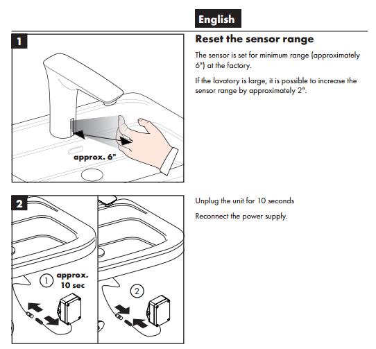 Midras Oil Rubbed Bronze Finish Sensor Faucet