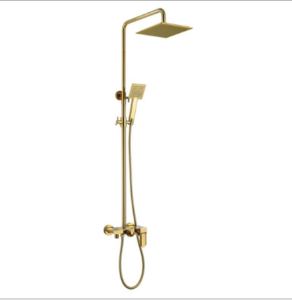 Nanterre Solid Brass Luxurious Exposed Gold Bathroom