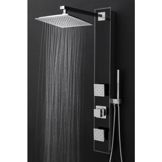 Fontana 35u2033 Shower Panel Shower Head With Handheld Shower. INSTALLATION  INSTRUCTIONS