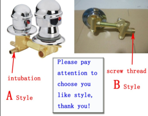 shower mixer way shower mixing valve cold and hot water switch valve shower room faucet accessories