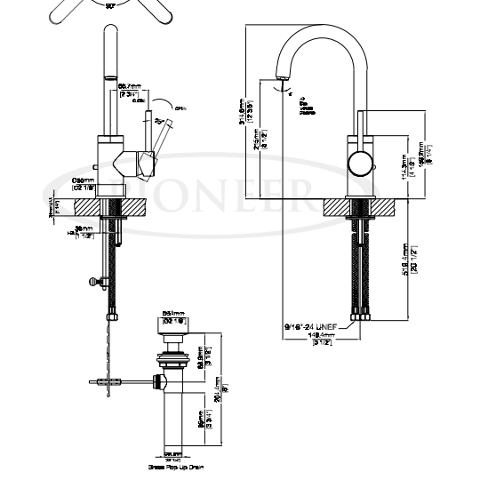 Installation Instructions For Fontana Sierra Kitchen Sink Faucet