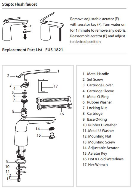 Installation Instructions For BathSelect Milan Single ...