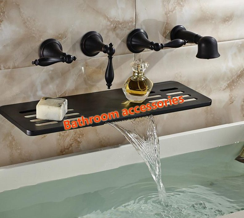 Wall Mount Tub Faucet Oil Rubbed