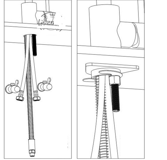 Installation Instructions For Modena Led Kitchen Faucet